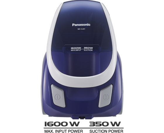 Panasonic MC-CL431 220-240 Volt Bagless Vacuum Cleaner