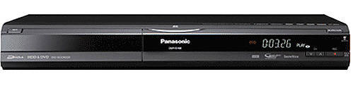 Panasonic DMR-EH68 1080p PAL/NTSC Code Free DVD Recorder with 320gb hard disk