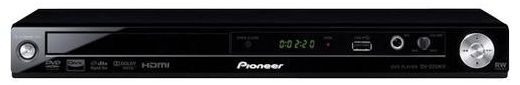 Pioneer DV-2012-k Region Free DVD Player - Works on any TV!