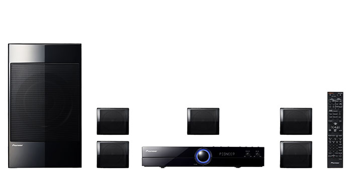 Pioneer HTZ-121 Region Free PAL/NTSC Region Free Home Theater System