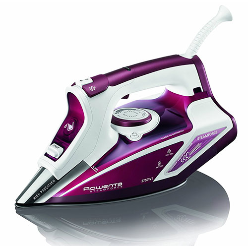 Rowenta iron steam only from bottom