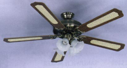 "Saachi 52"" 220-240 Volt Ceiling Fan"