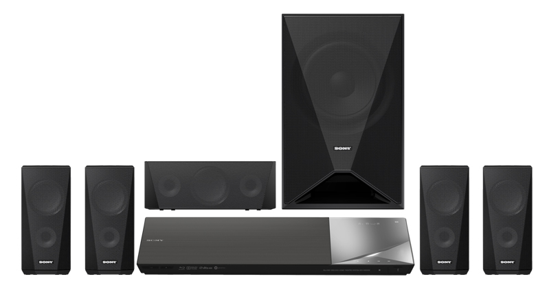SONY BDV-N5200 HTC 5.1 Multi Zone All Region Code Free DVD Blu Ray Home Theater System