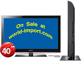 Samsung LA-40B550 40&quot; Multi-System FULL HD 1080p LCD TV