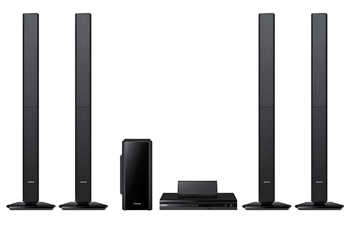 Samsung HT-F455 Region Free Home Theater System with 1000 Watt Ouput Power and BlueTooth  - 110-240 Volt To use WorldWide