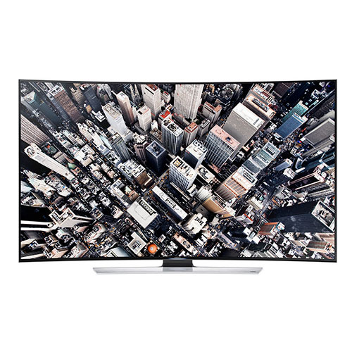 "Samsung UA-65HU9000 65"" PAL/NTSC/SAECAM Multi System 4K 3D LED SMART CURVED TV with 110-240 Volt 50/60 Hz"