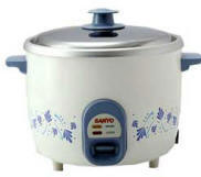 EC-188 Sanyo Automatic 220-240 Volt 10-Cup Rice/Steam Cooker