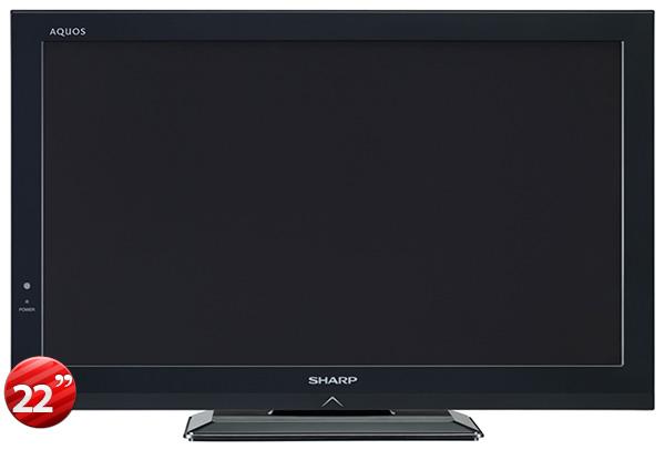 sharp lc 22dc30m 22 full hd 1080p multi system led tv. Black Bedroom Furniture Sets. Home Design Ideas