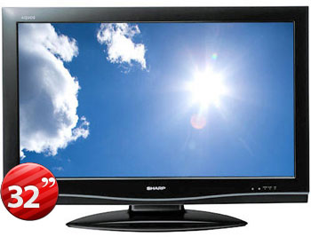 "Sharp LC-32A66M 32"" Multi-System Full HD LCD TV"