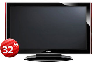 Sanyo 32K40 32&quot; Multi-System LCD TV