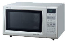Sharp R-758K 220-240 Volt Grill Microwave Oven