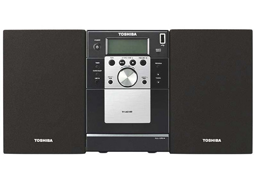 Toshiba TY-AS100 Region Free Mini Home Theater Multi-System