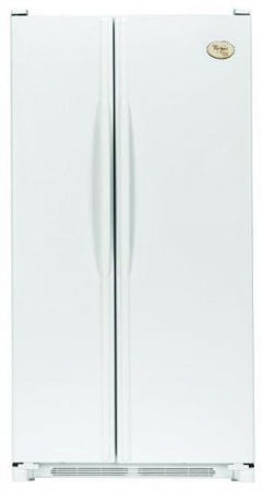 Whirlpool WGS2624PEKW 220 Volt 50 Hertz Side by Side Refrigerator - Large Size - White Color - 220-240 volt 50 Hz