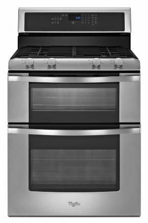 Whirlpool 3WGG555S0BS 220-240 Volt 50 Hertz Gas Oven