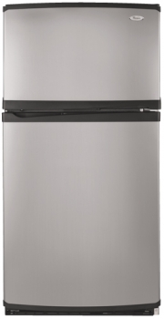 Whirlpool 5GR2SHKXLS 220 Volt 23 cu.ft. Top mount Stainless Steel Refrigerator - 220-240 Volt 50 Hz