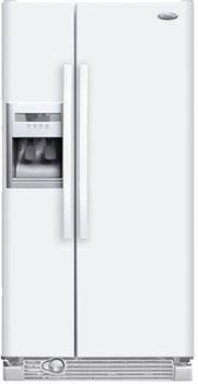 Whirlpool ED2FHGXVQ WW 220 Volt 50 Hz 23 Cu. Ft. Refrigerator