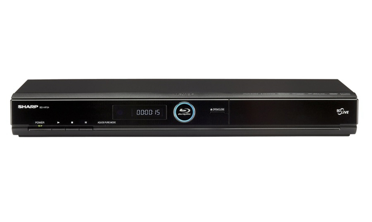 SHARP BD-HP70U Region Free Blu Ray DVD Player