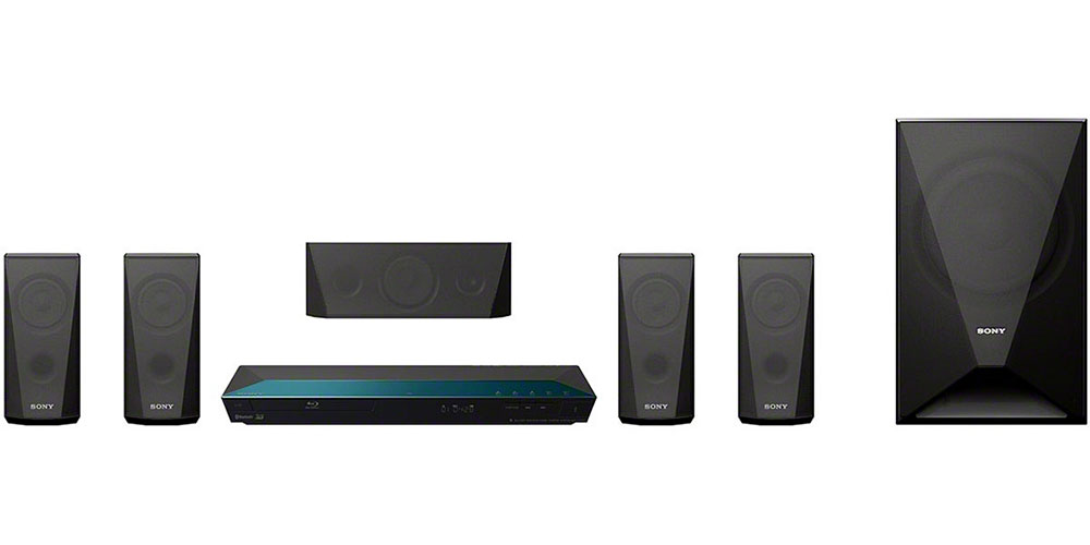 Sony BDV-E3100-ABC Region Free 3-D Blu Ray Home Theater System