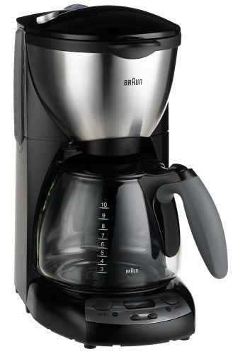 Braun KF590 220-240 Volt 50 Hz Black Color Coffee Maker