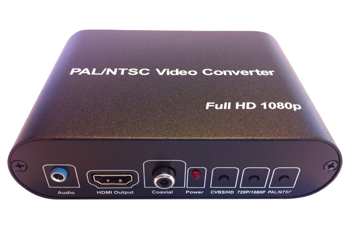 Com World CMD-HDX75 PAL/NTSC/SECAM Video Converter - RCA/HDMI Input - HDMI Output