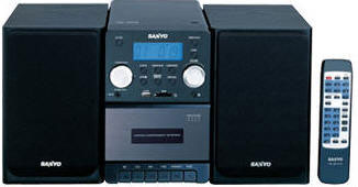 Sanyo DC-UB1470 Micro System with 220-240 volts 