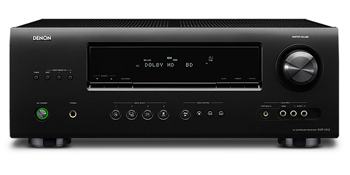 DENON AVR-1312 220-240 volts 50 Hertz AUDIO VIDEO RECEIVER
