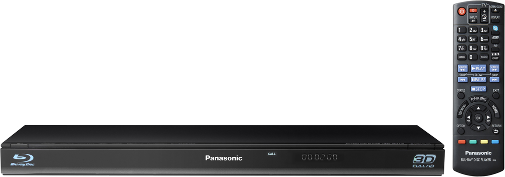 Panasonic DMP-BDT110 Region Free Blu Ray DVD Player
