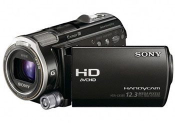 SONY HDR-CX560E Full HD PAL Camcorder with GPS & 12MP Stills
