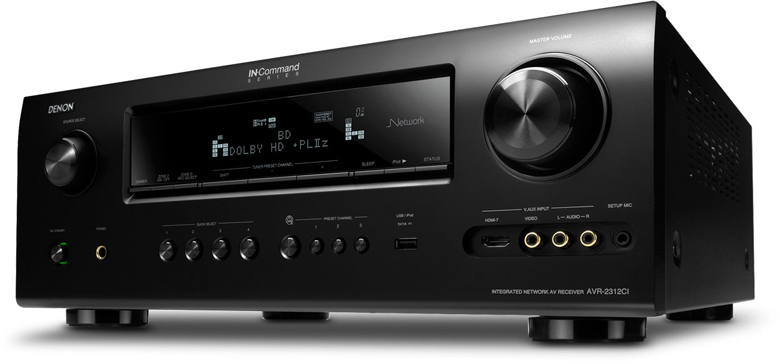 DENON AVR-2312 220-240 volts 50 Hertz AUDIO VIDEO RECEIVER