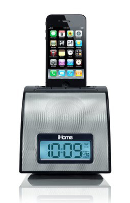 I-home Alarm Clock for your iPhone or iPod with World Wide Voltage