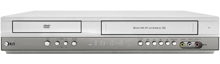 LG DV-271 Region Free DVD and Multi-System VCR Combos