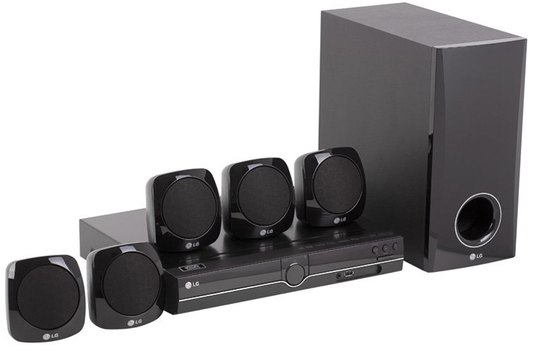 LG Region Free World Wide Home Theater System HT-355SD