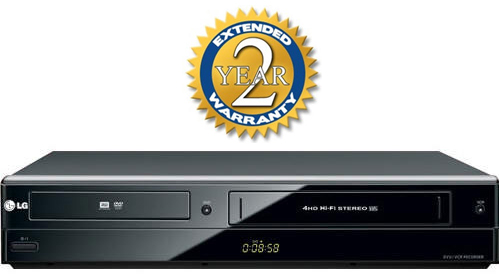 Extended Warranty Coverage for All DVD Recorders