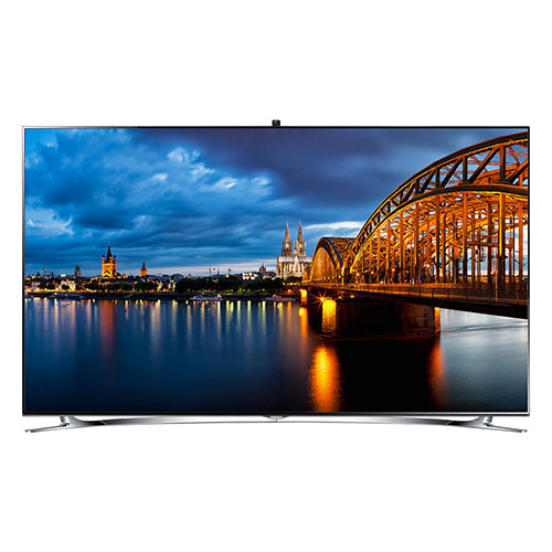 "Samsung UA-55F8000 55"" Multi-System World Wide Smart Full HD LED TV"