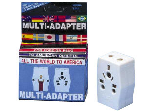 Any plug to USA/Canada/Mexico Plug Adapter - WSS407