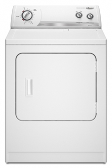 "Whirlpool WED5205S 220 Volt 29"" Super Capacity White Color Dryer"