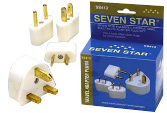 WSS413KIT World Wide Plug Adapter Kit