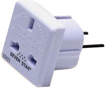 WSSGS18 Grounded UK to Grounded Euro (Shucko) Plug