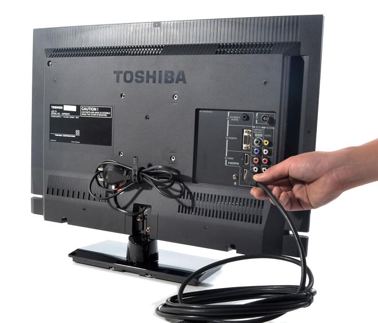 Toshiba 23 U0026quot  World Wide Global Multi System Led Tv