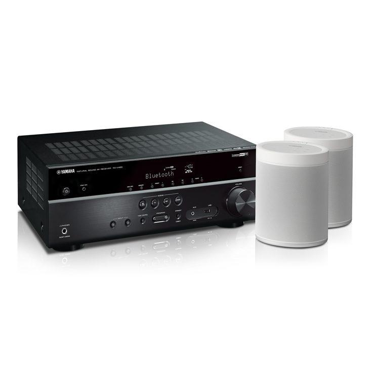 yamaha rx v585bl 7 2 channel 4k av receiver with musiccast. Black Bedroom Furniture Sets. Home Design Ideas