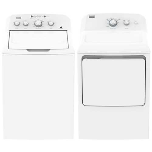 Frigidaire Electrolux MLV34GGTWB & MKR62GWTWB 220-240 Volt 50 Hz Washer and Dryer Set