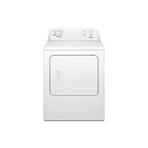 Whirlpool 3LWED4705FW Atlantis 15kg Dryer White Panel - 220 Volt 240 Volt 50 Hz - To Use Outside North America