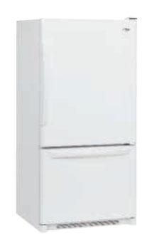 Amana AB2526PEKW WW 220 Volt 50 Hz 25 Cu. Ft. Refrigerator