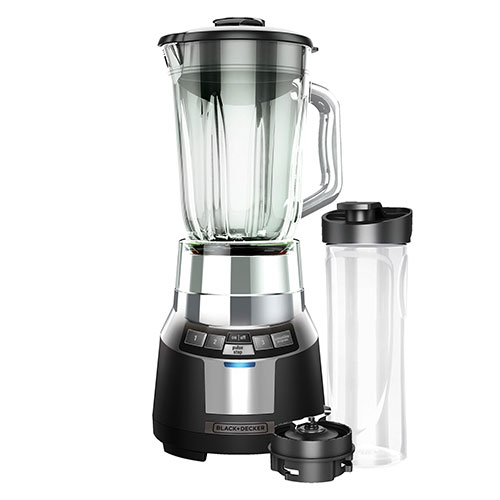 Black & Decker BL1820 High Quality Power Full Blender  - 220-240 Volt 50 Hz - Four Function - Digital control - Glass Jar - 700 Watt of Power - To Use Outside North America