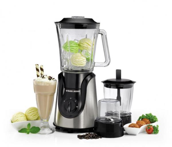 Black and Decker BX600G-B5 220-240 Volt 50 Hz 600w Glass Blender With Grinder