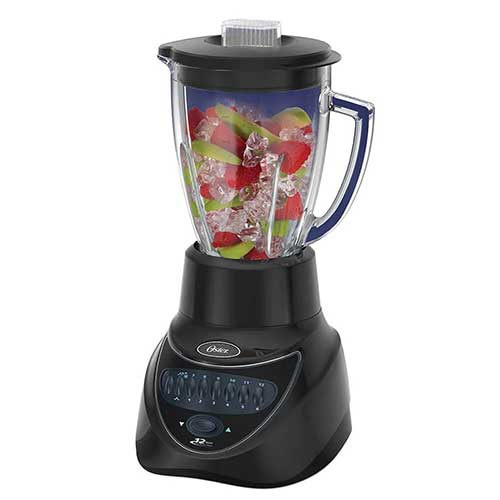 Oster BLSTEG7806B 220-240 Volts 12 Speed Blender with LED Buttons