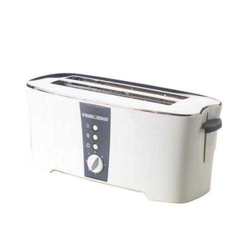 Black and Decker ET124 220 240 Volt 50 Hz 4 Slice Toaster - 1350 Watt - 4 Slice - Crumb Tray - 220-240 volt 50 Hz