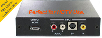 Com World CMD-HDX6 Professional Pal to NTSC Video Converter