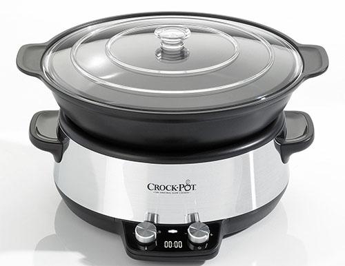 Crock-Pot CSC011X 220-240 Volt 50 Hz Slow Cooker with 6 Liter Capacity