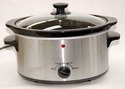 Crock-Pot EXC35SS 220-240 Volt 50 Hz Slow Cooker - With 3.3 Liter Capacity